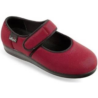 Papuče Mjartan  Dámske červené papuče  NATAŠA