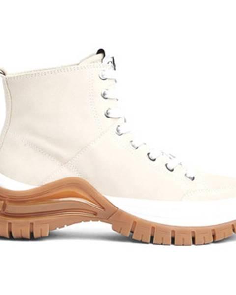 Béžové topánky Calvin Klein Jeans