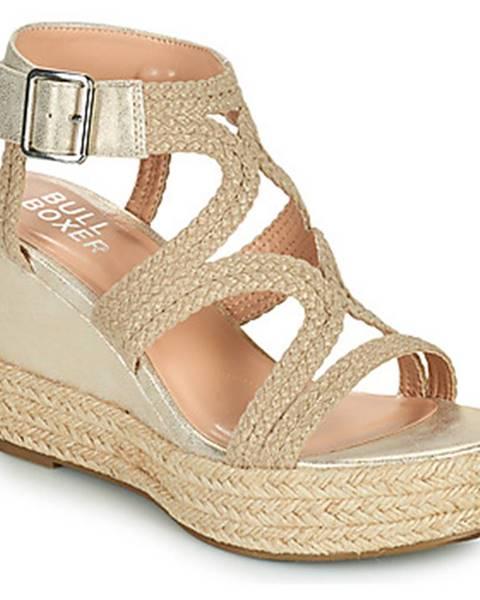 Béžové sandále Bullboxer