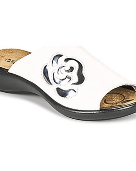 Biele topánky Romika Westland