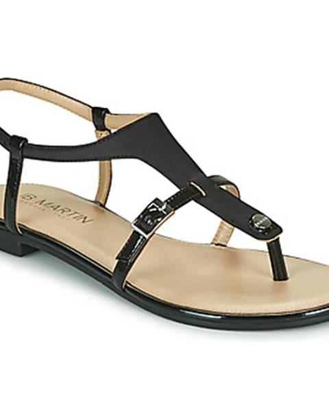 Čierne sandále JB Martin