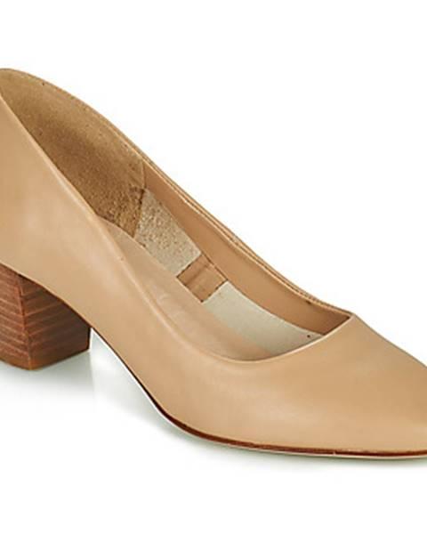 Béžové sandále San Marina