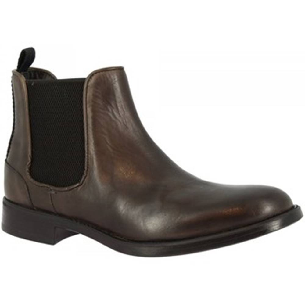 Leonardo Shoes Polokozačky  248-42 CALF GRIGIO