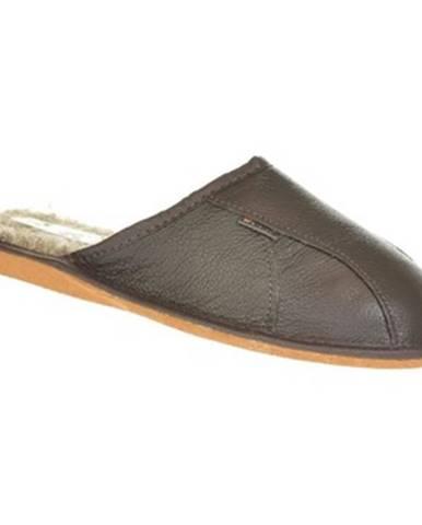 Hnedé papuče Just Mazzoni