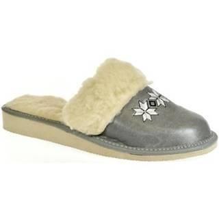 Papuče  Dámske sivé papuče CHRISTI