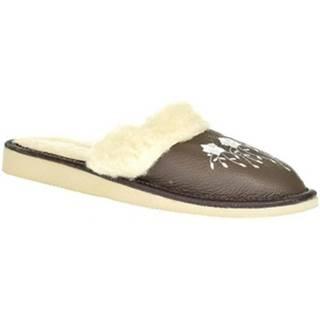 Papuče  Dámske sivé papuče MATILDA