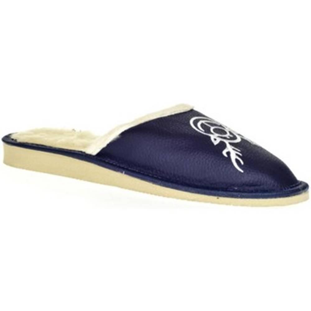 John-C Papuče  Dámske modré papuče JELENÍK