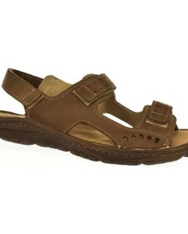 Hnedé sandále John-C
