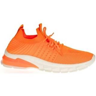Nízke tenisky  Dámske oranžové tenisky LIA