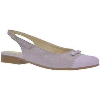 Sandále  Dámske fialové sandále EVELINE