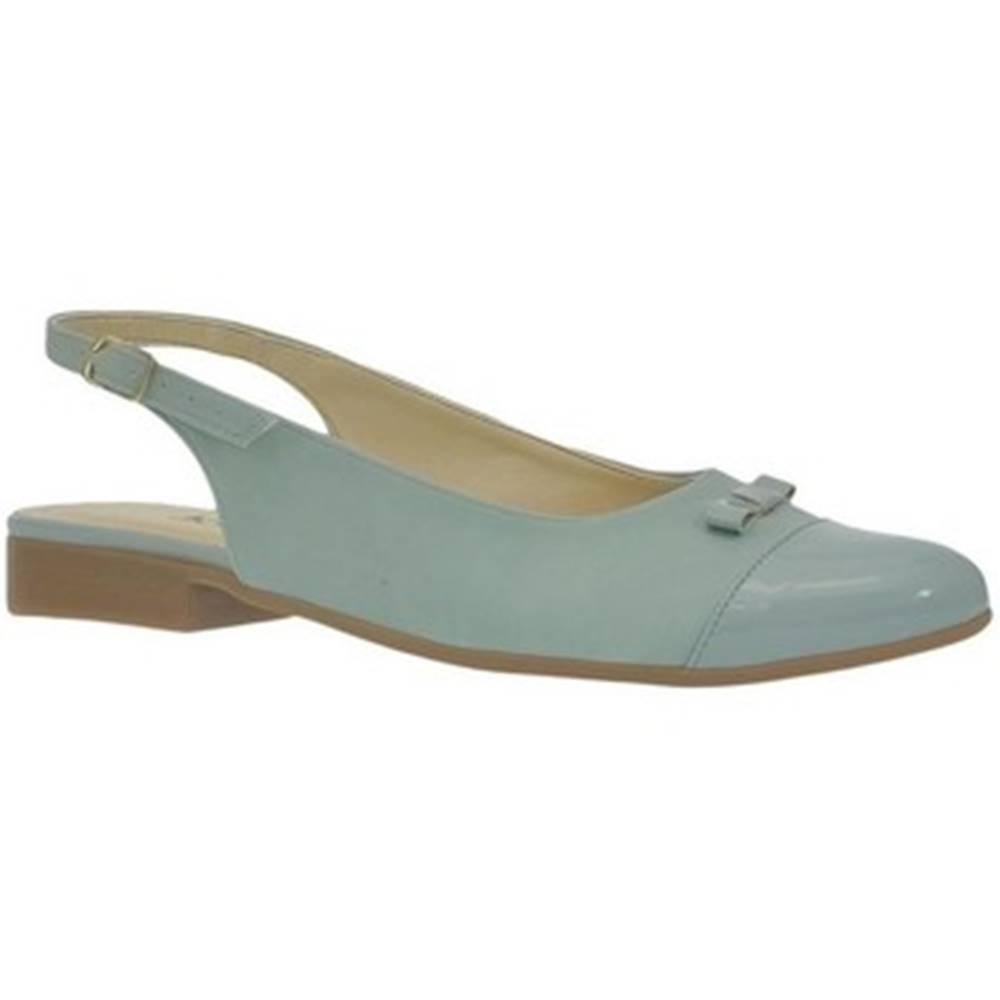 John-C Sandále  Dámske zelené sandále EVELINE