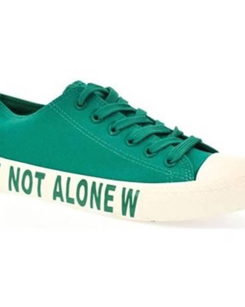 Zelené tenisky Yes Smile