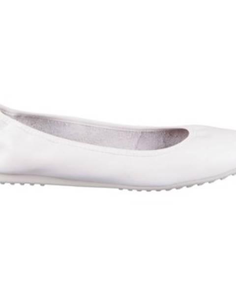 Biele balerínky Tamaris
