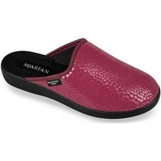 Papuče  Dámske červené papuče  IVANKA