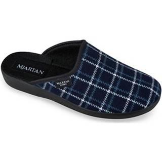 Papuče  Dámske modré papuče  LINES