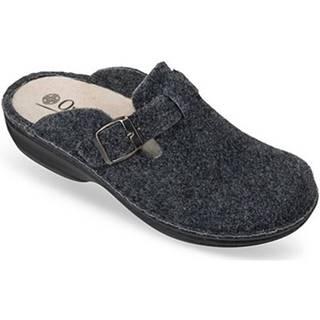 Papuče  Dámske sivé papuče  DORI