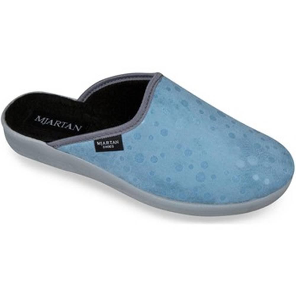 Mjartan Papuče  Dámske modré papuče  IVANKA