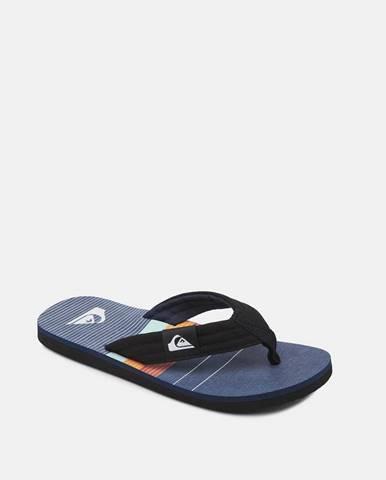 Tmavomodré sandále Quiksilver