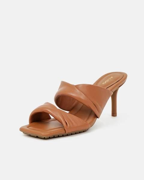 Hnedé sandále Aldo