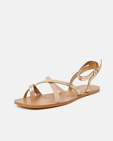 Zlatoružové sandále Aldo