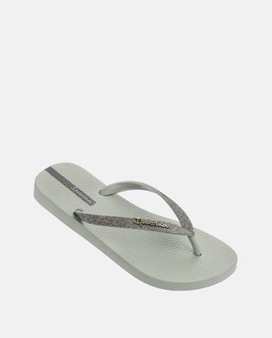 Sivé papuče Ipanema