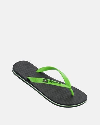 Zelené papuče Ipanema