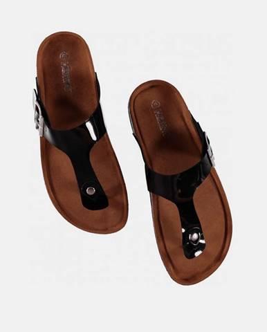 Čierne papuče hailys