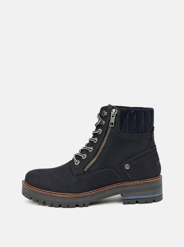 Wrangler Čierne dámske členkové topánky Wrangler