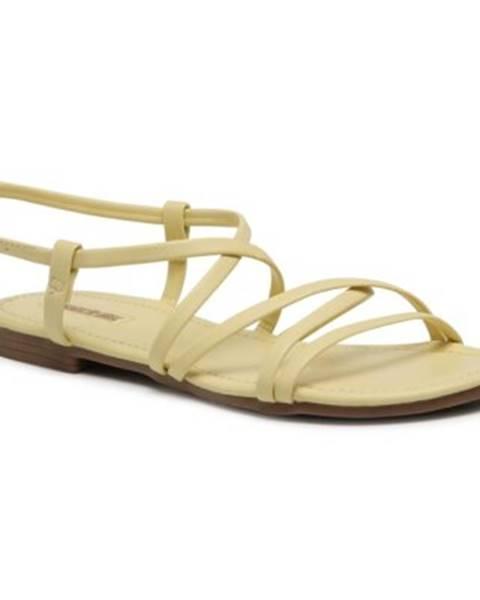Žlté sandále Jenny Fairy