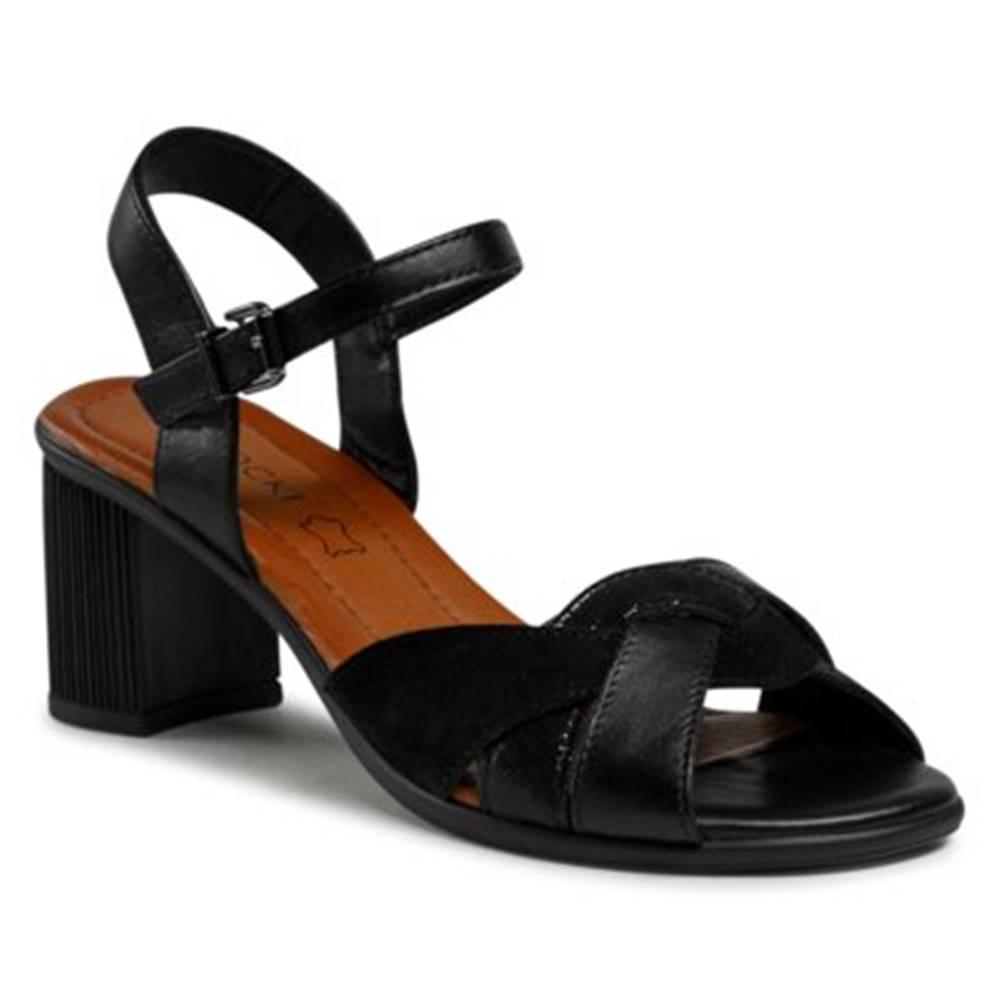 Lasocki Sandále Lasocki RST-2222-03 Prírodná koža(useň) - Zamš