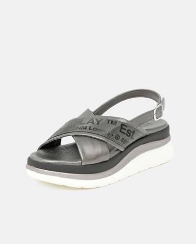Sivé sandále Replay