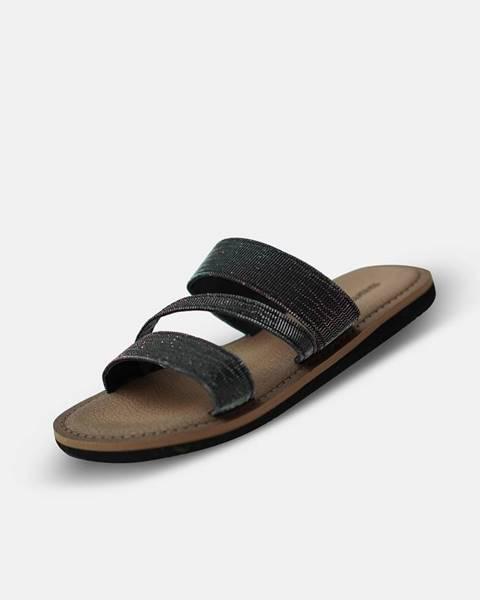 Čierne papuče SAM 73