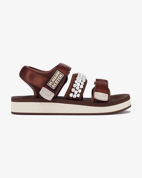 Hnedé sandále scotch & soda
