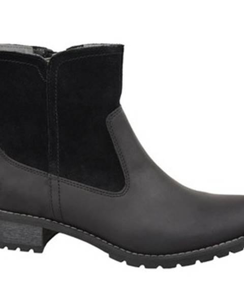 Čierne topánky Timberland