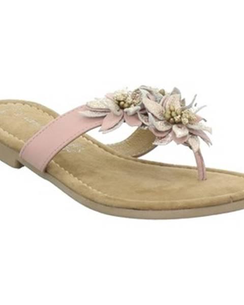 Ružové topánky Marco Tozzi