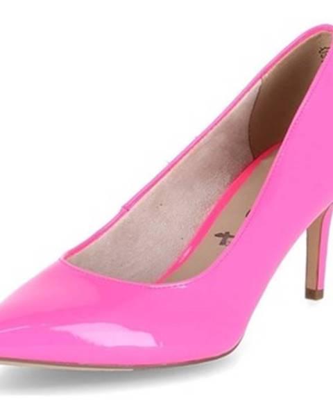 Ružové lodičky Tamaris