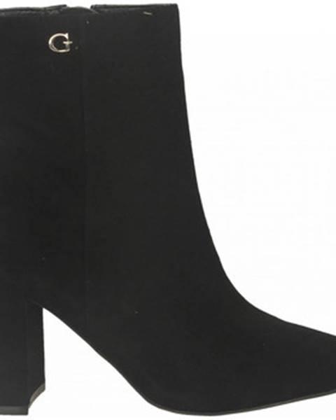 Čierne topánky Guess