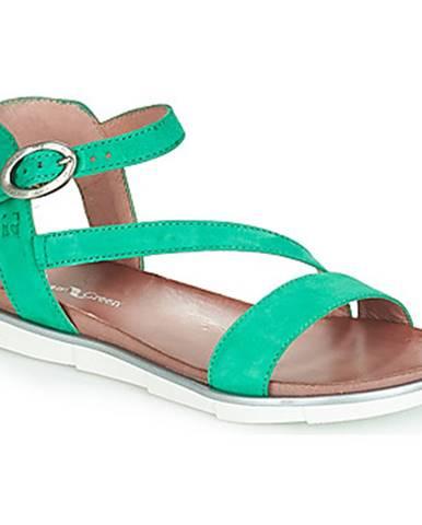 Zelené sandále Dream in Green