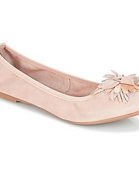 Béžové balerínky André