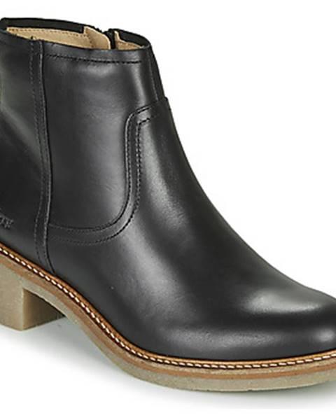 Čierne topánky Kickers