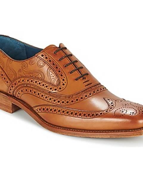 Hnedé topánky Barker