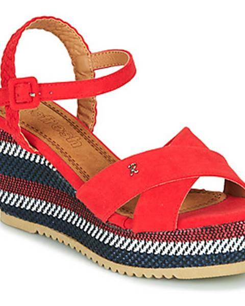 Červené sandále Refresh