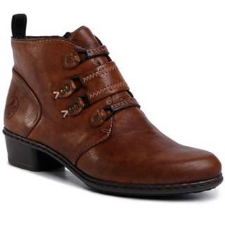 Šnurovacia obuv Rieker Y0792-24 Ekologická koža/-Ekologická koža