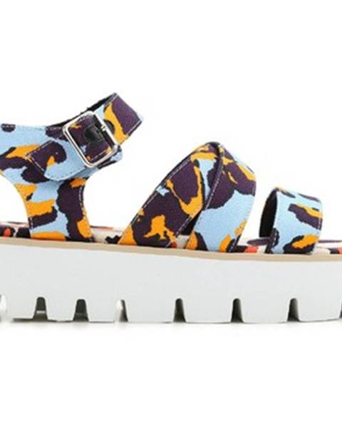 Viacfarebné topánky Msgm