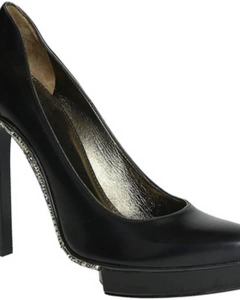 Čierne topánky Lanvin