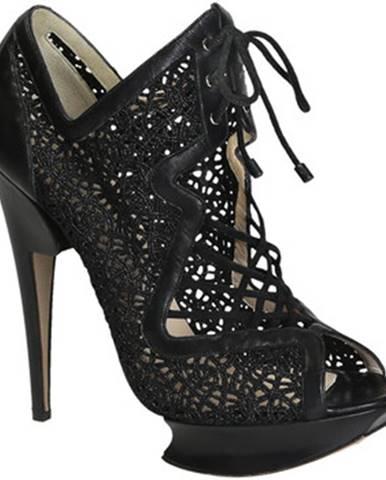 Čierne topánky Nicholas Kirkwood