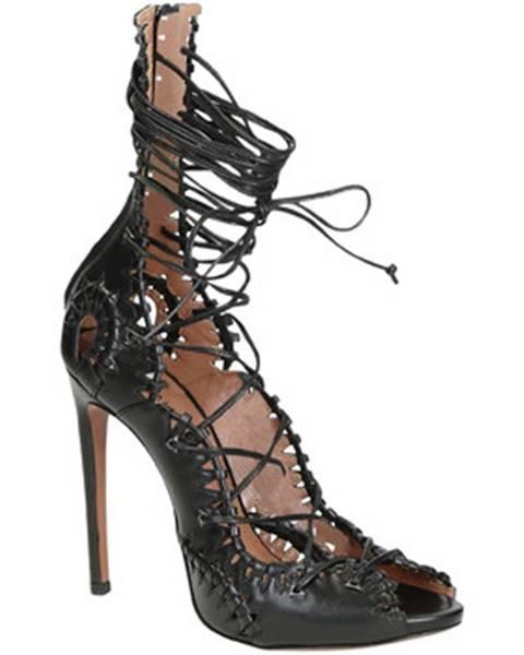Čierne topánky Alaa