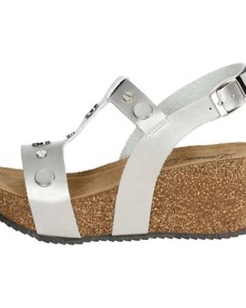 Strieborné topánky Lorraine