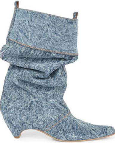Modré čižmy Stella Mc Cartney