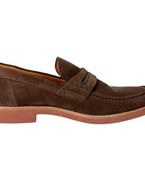 Hnedé topánky Corvari